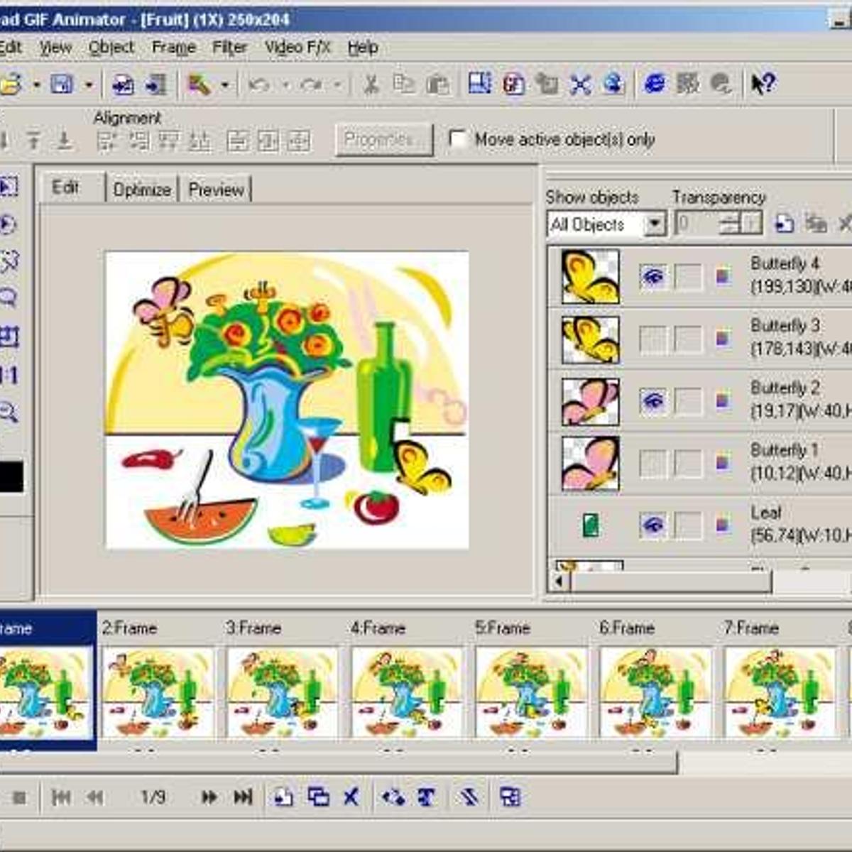 Шутка, программа для анимации картинок на телефоне