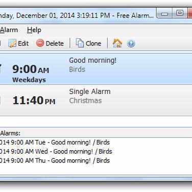 Free Alarm Clock Alternatives and Similar Software