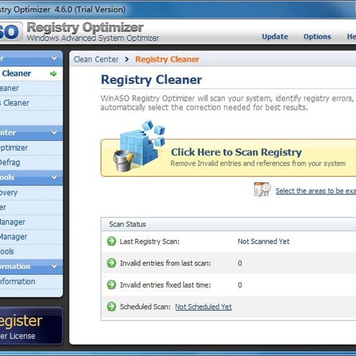 Winaso registry optimizer download.