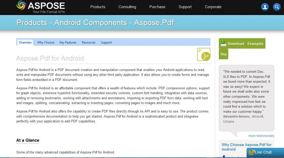 Aspose Pdf For Android Alternatives And Similar Software