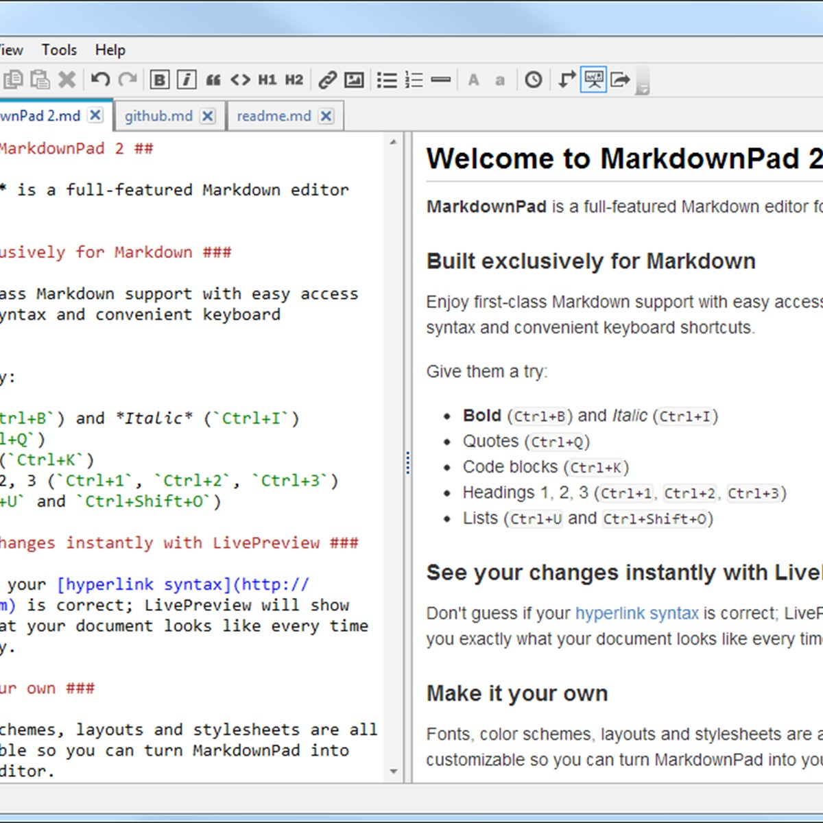 MarkdownPad Alternatives and Similar Software - AlternativeTo net