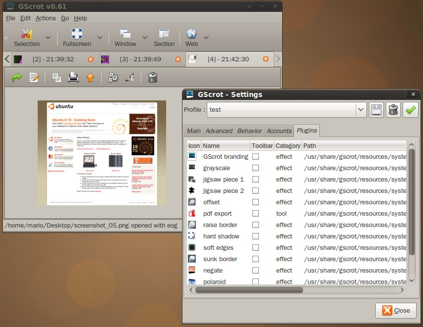 download snipping tools for ubuntu