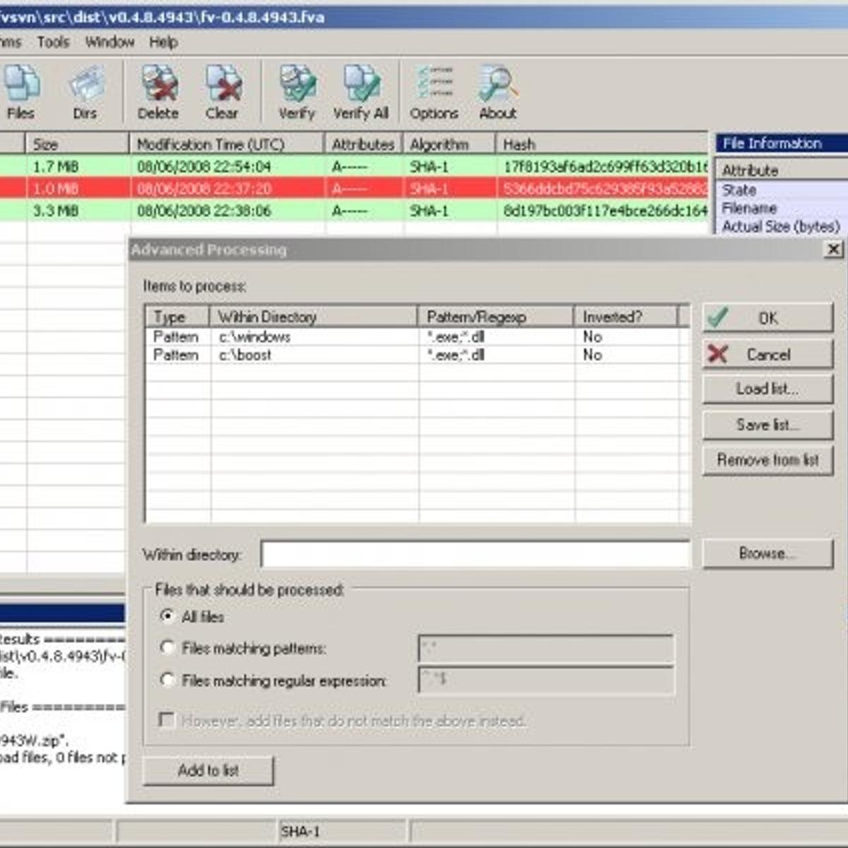 FileVerifier++ Alternatives and Similar Software