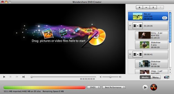 Wondershare DVD Creator