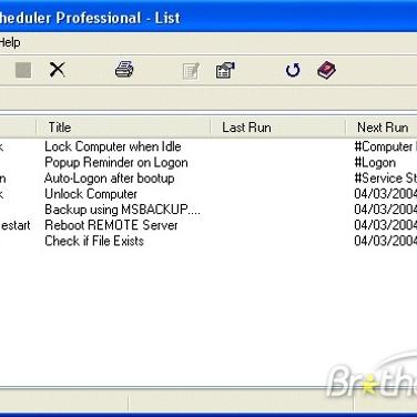 System Scheduler Alternatives and Similar Software