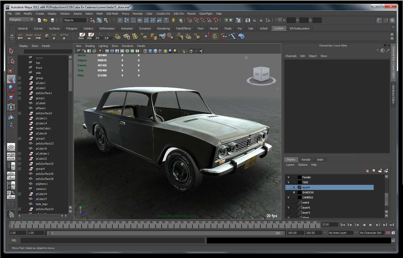 Autodesk maya alternatives and similar software for Interieur voiture