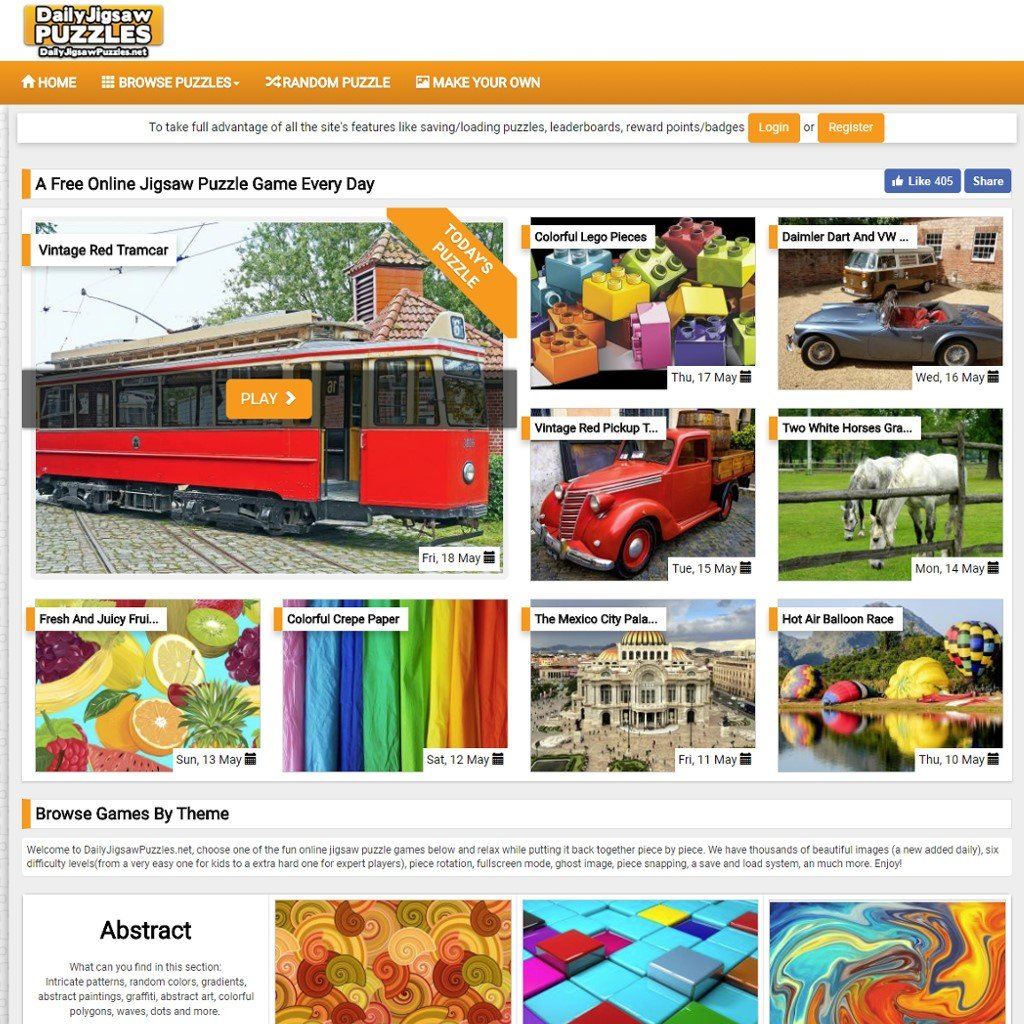 Daily Jigsaw Puzzles Alternatives and Similar Websites and
