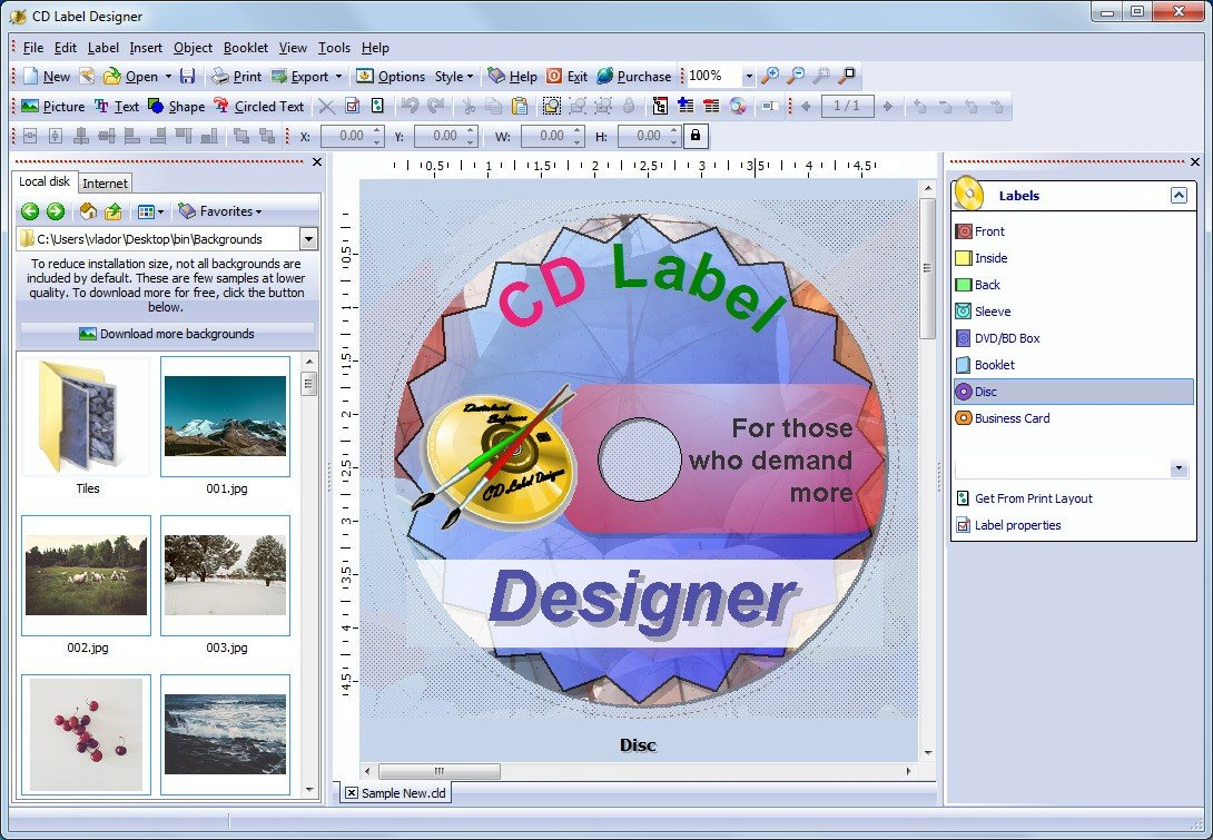 Dataland CD Label Designer Alternatives and Similar ...