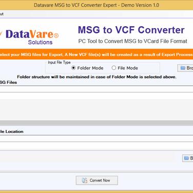 DataVare MSG to VCF Converter Alternatives and Similar