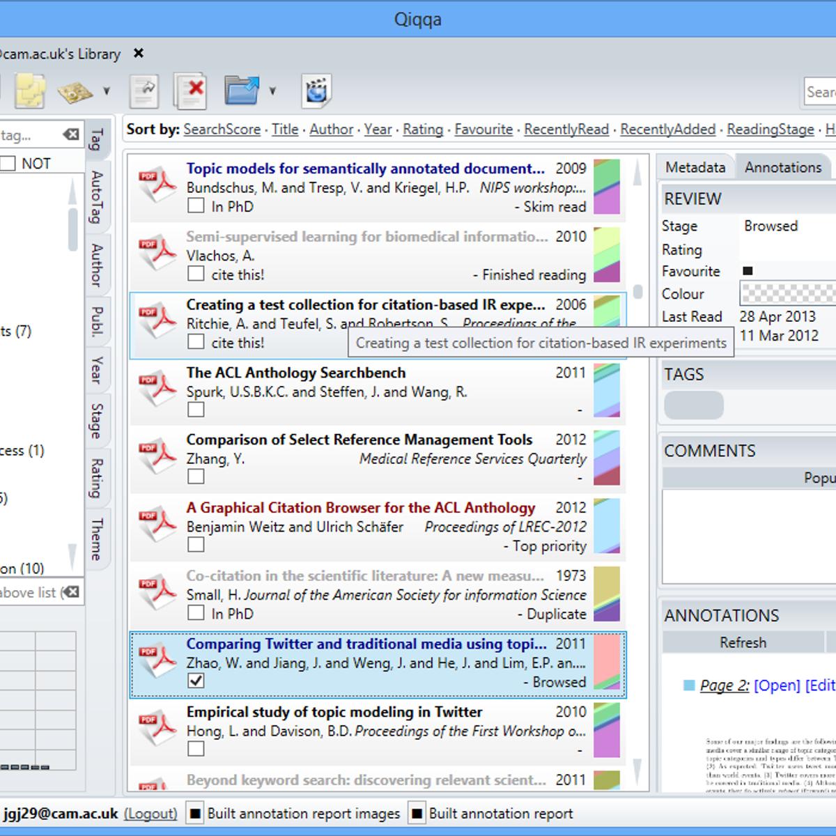 Qiqqa Alternatives and Similar Software - AlternativeTo net