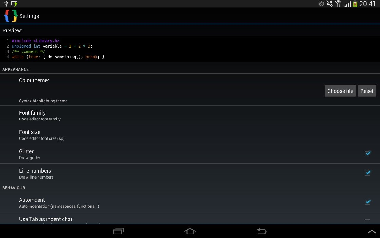 dev c++ download free for android
