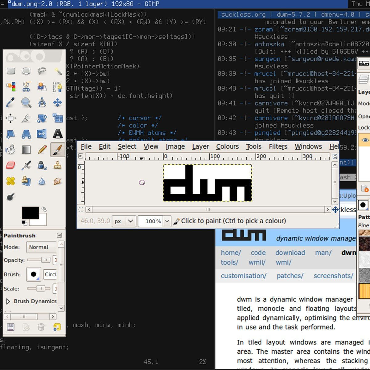 dwm Alternatives and Similar Software - AlternativeTo net