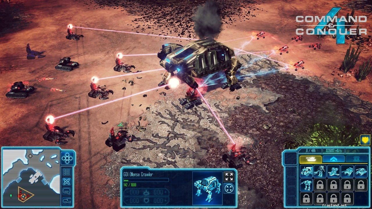 command and conquer app for android