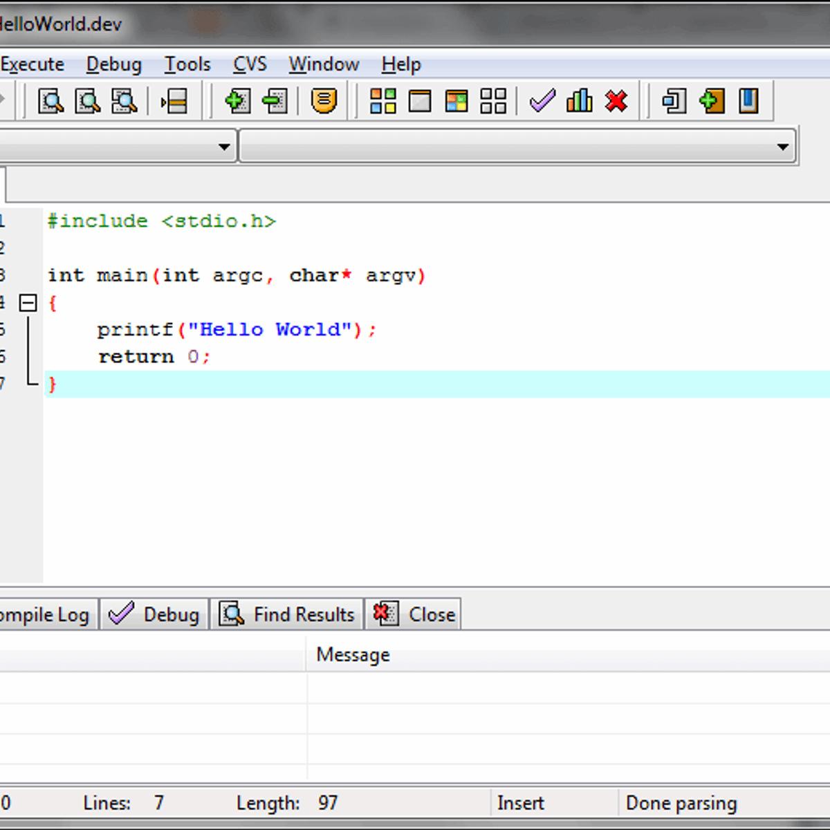 Orwell Dev-C++ Alternatives and Similar Software
