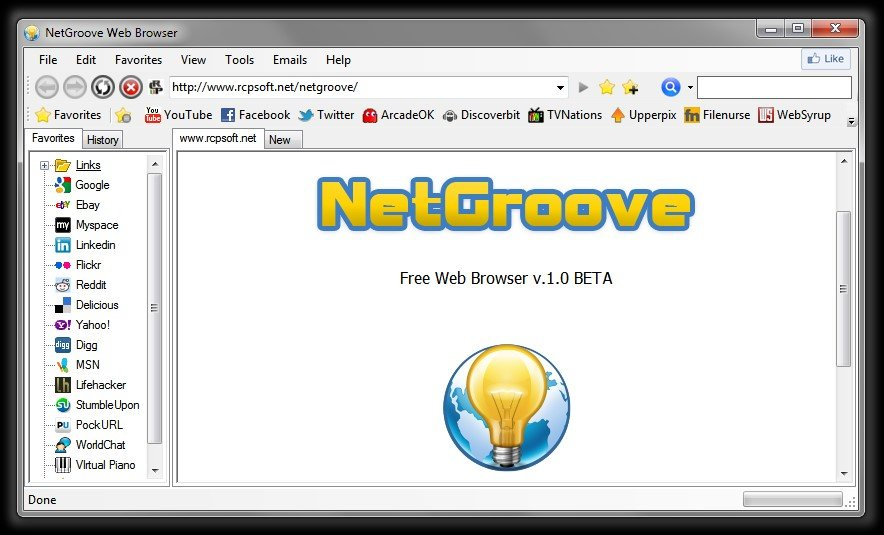 Netgroove alternatives and similar software Browser info