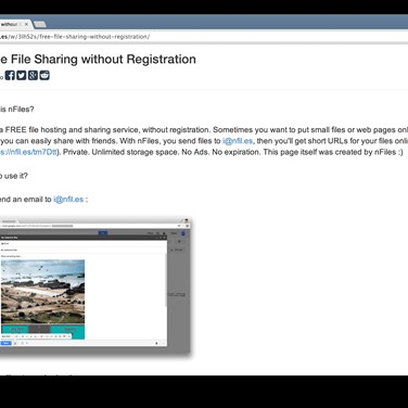 File sharing websites without registration | Send Large