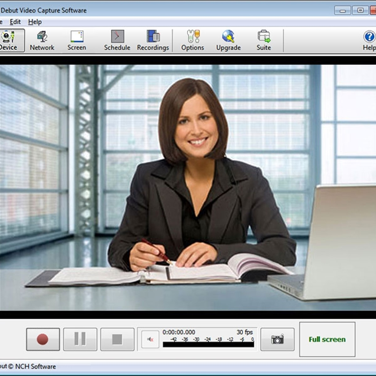 is nch debut video capture software safe