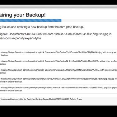 Decipher Backup Repair Alternatives and Similar Software