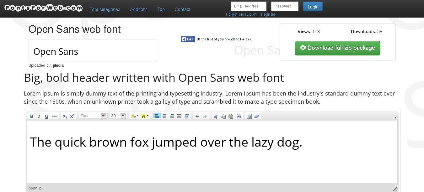 Fonts For Web Alternatives and Similar Software