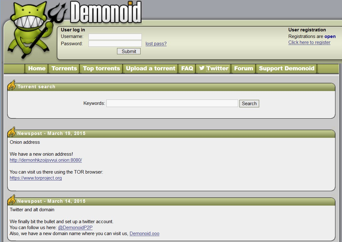 Demonoid Alternatives And Similar Websites And Apps