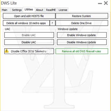 Destroy Windows Spying Alternatives and Similar Software