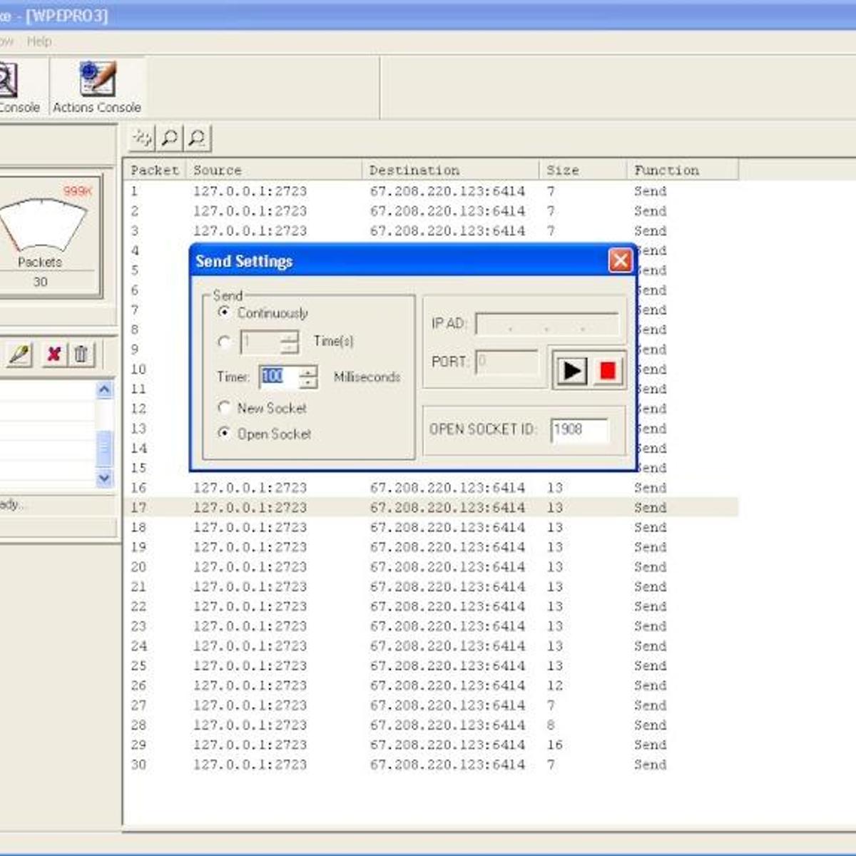 Winsock Packet Editor Alternatives and Similar Software