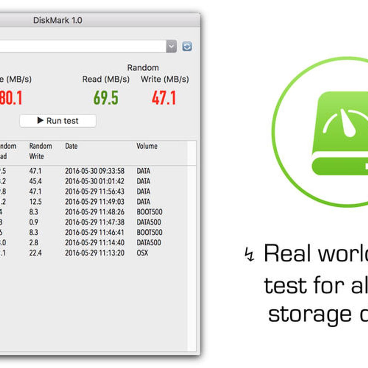 DiskMark Alternatives and Similar Software - AlternativeTo net