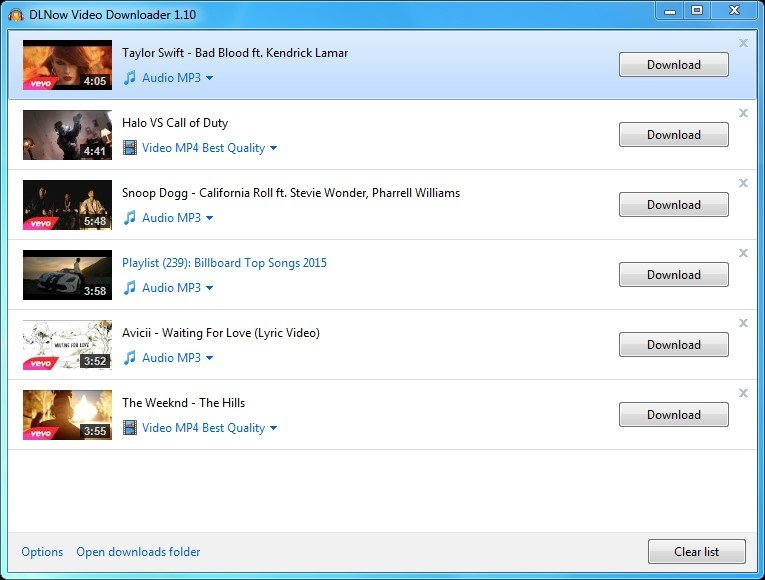 DLNow Video Downloader Alternatives and Similar Software