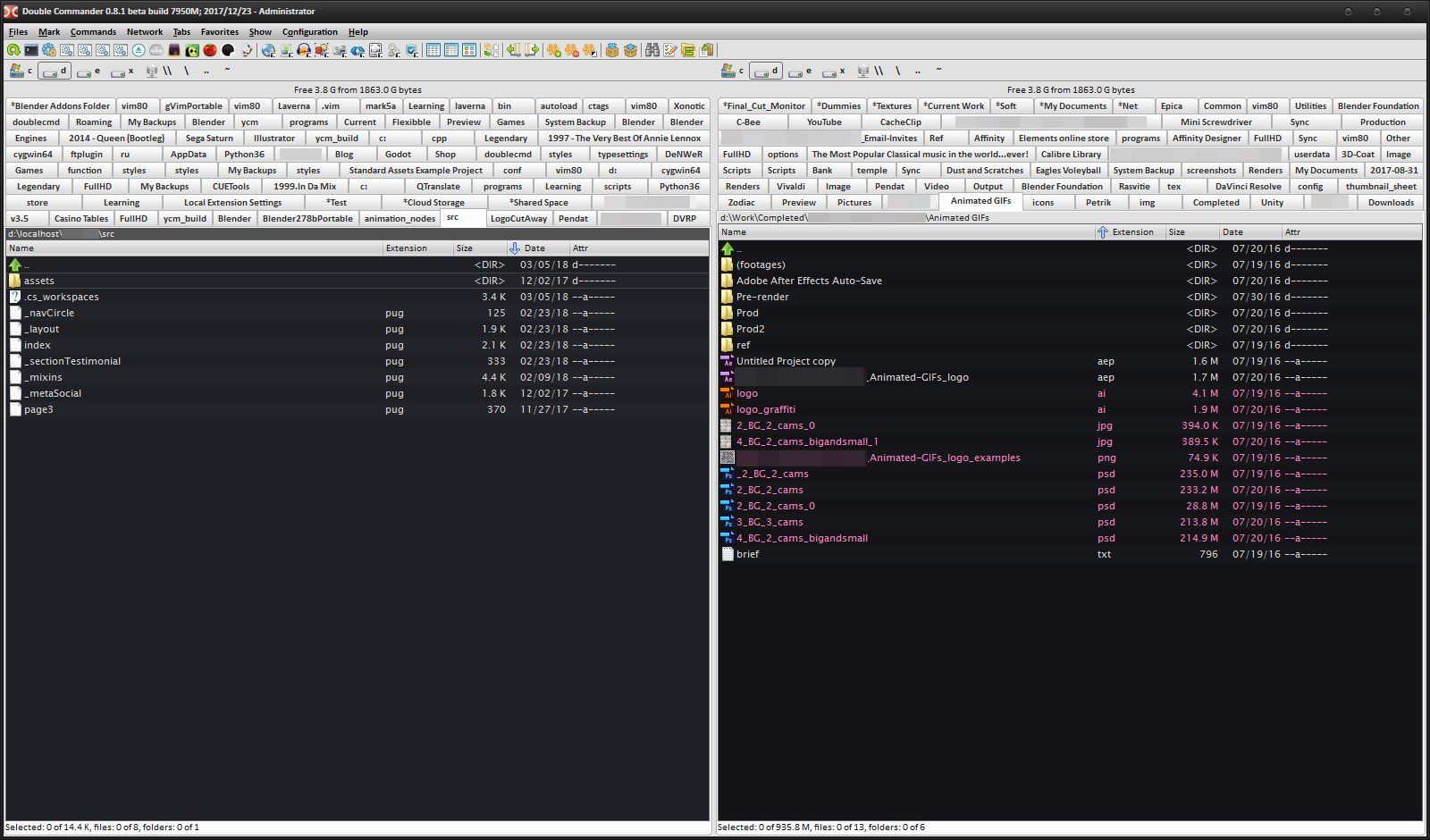 Dolphin File Manager Alternatives for Windows