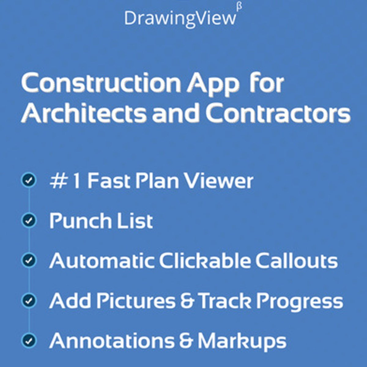 Drawingview punch list construction app alternatives for Construction drawing apps