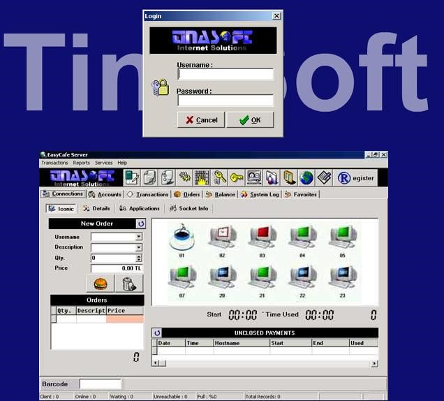 Free Open Source Cyber Cafe Software