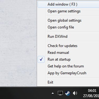 how to run every game in windowed mode
