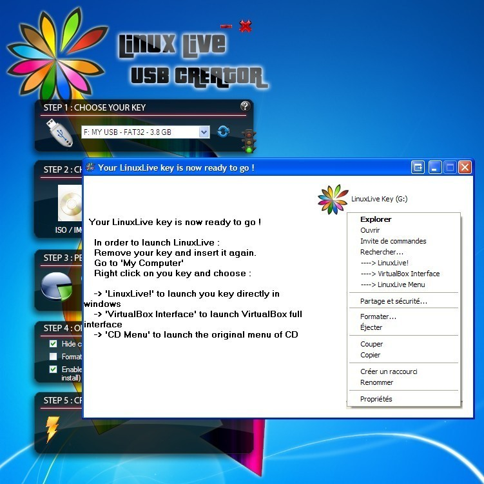 linux live usb creator download ubuntu