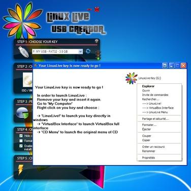 windows linux live usb creator utility