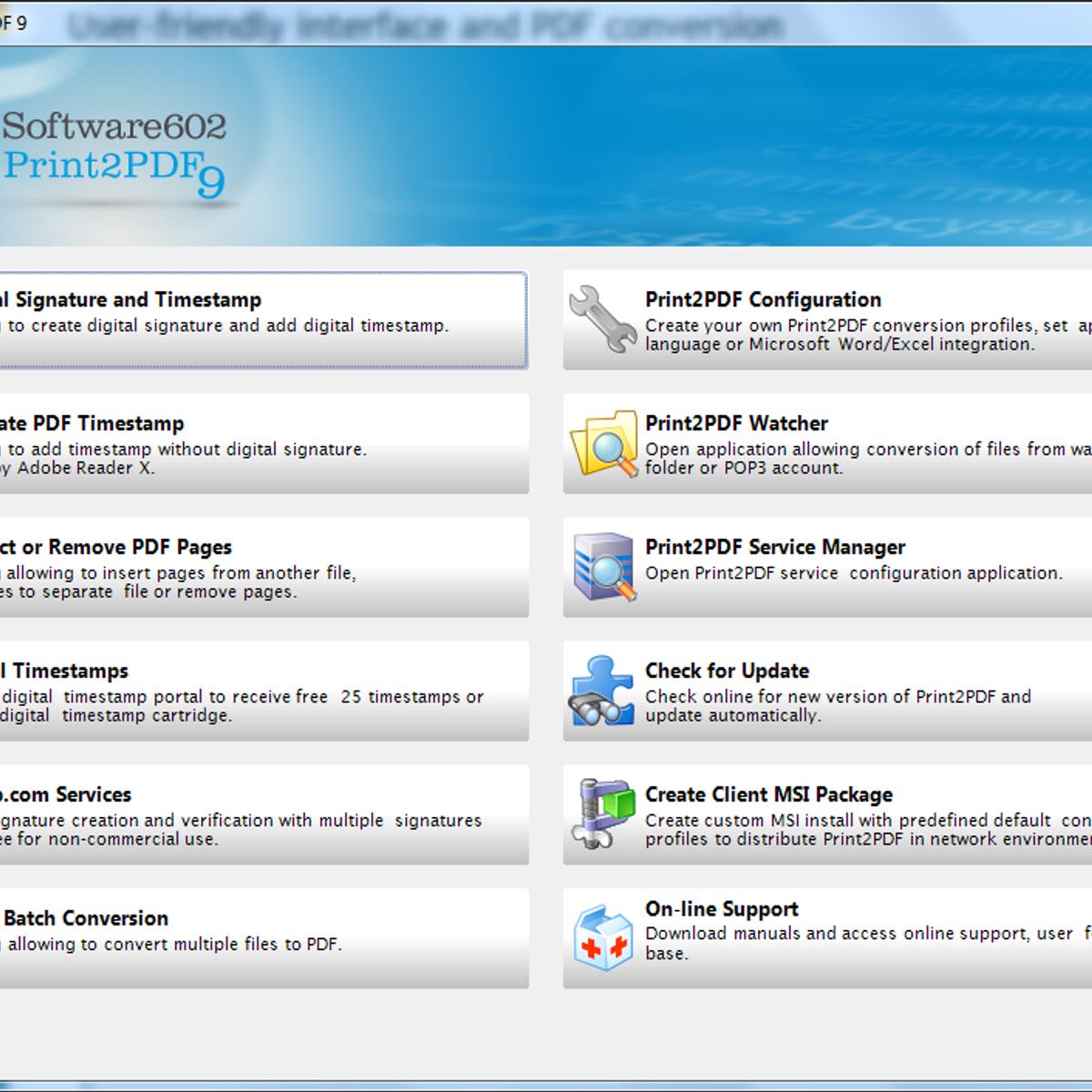 Software602 print2pdf alternatives and similar software software602 print2pdf alternatives and similar software alternativeto freerunsca Images