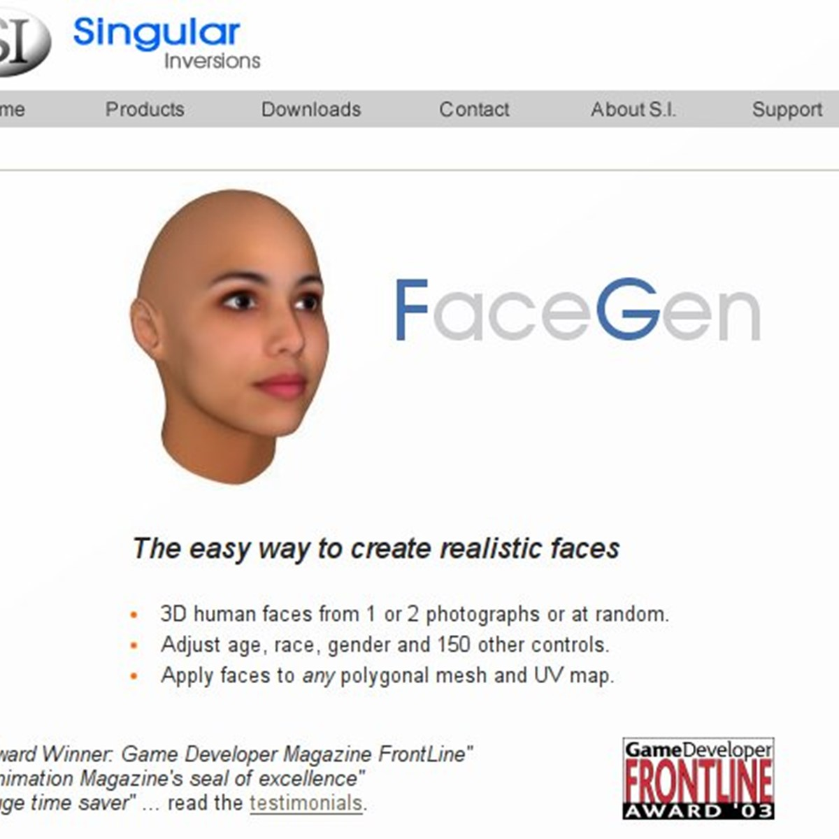 Face Gen Alternatives and Similar Software - AlternativeTo net