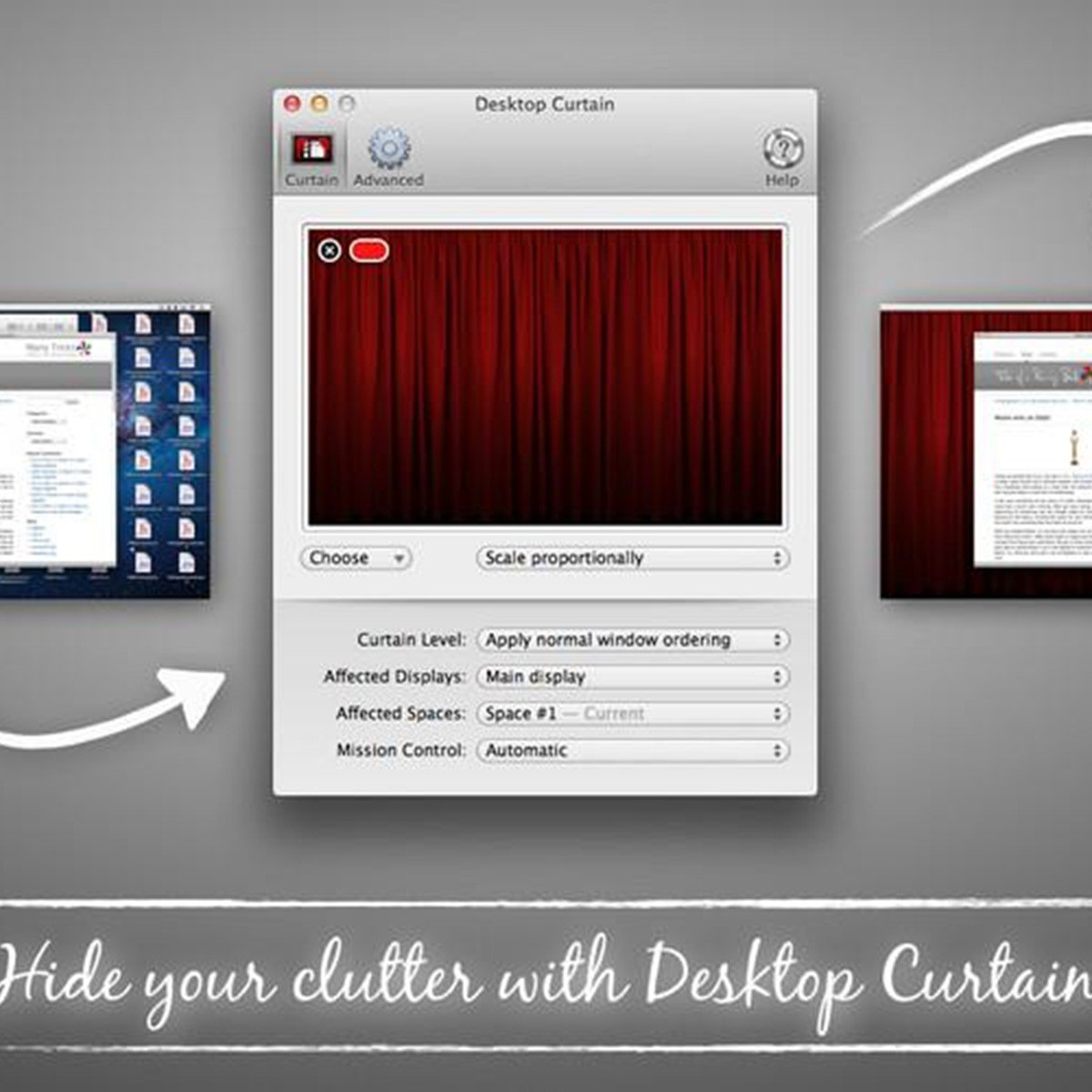 Desktop curtain alternatives and similar software for Curtain creator software