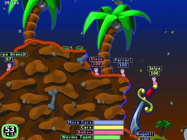 worms 1 game free download full version pc
