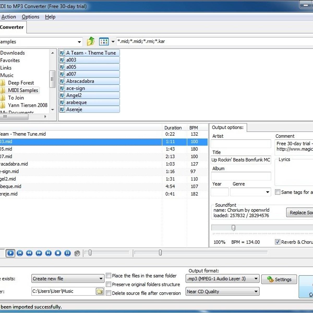 Magic MIDI to MP3 Converter Alternatives and Similar