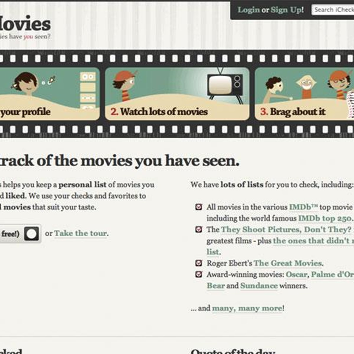 iCheckMovies Alternatives and Similar Websites and Apps