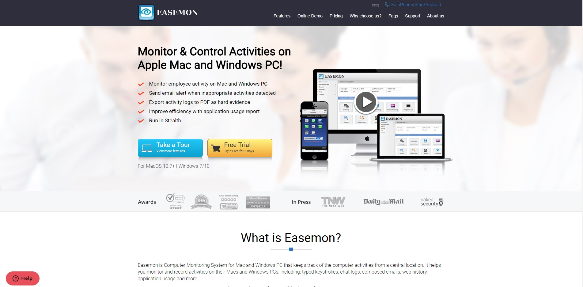 Easemon Reviews, Features, and Download links - AlternativeTo