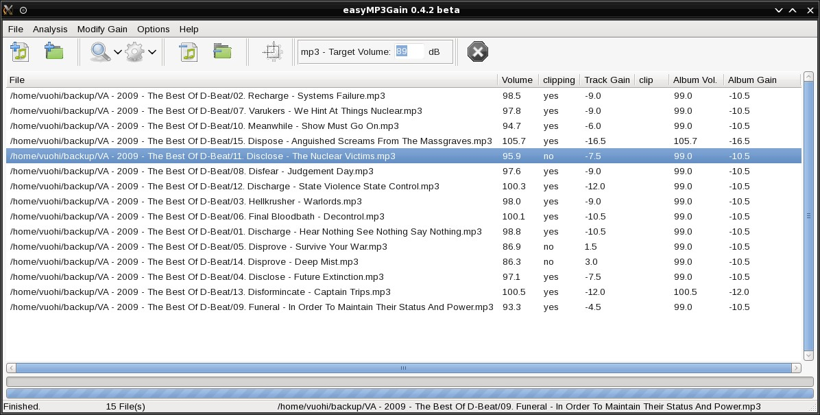 easyMP3Gain Alternatives and Similar Software - AlternativeTo net