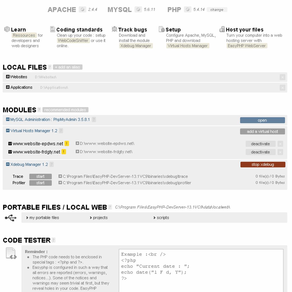 EasyPHP Alternatives for Mac - AlternativeTo net