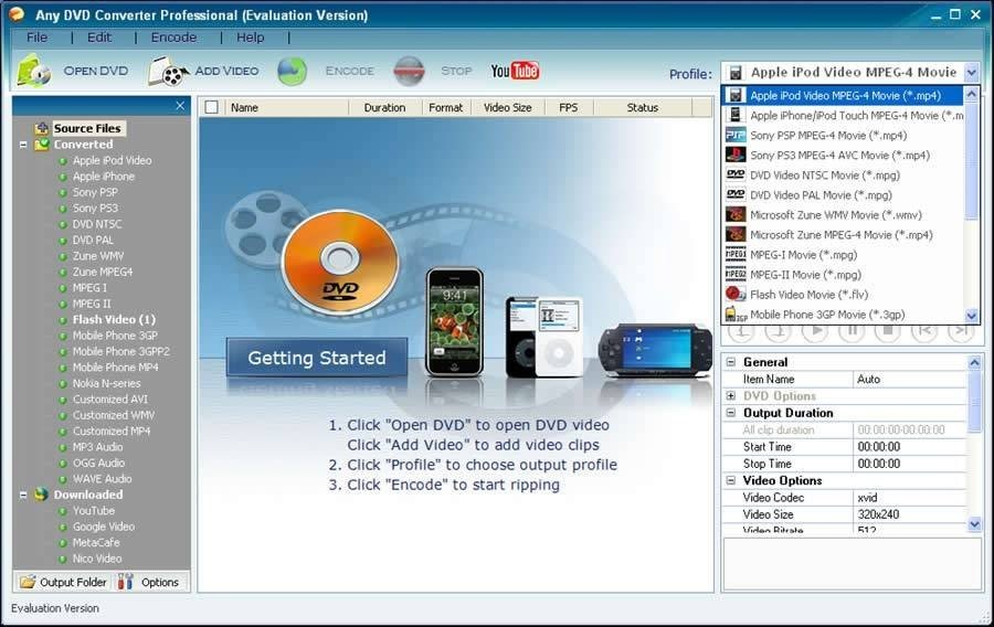 Any DVD Converter Alternatives and Similar Software