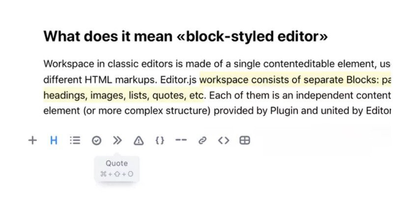 Editor js Alternatives and Similar Websites and Apps