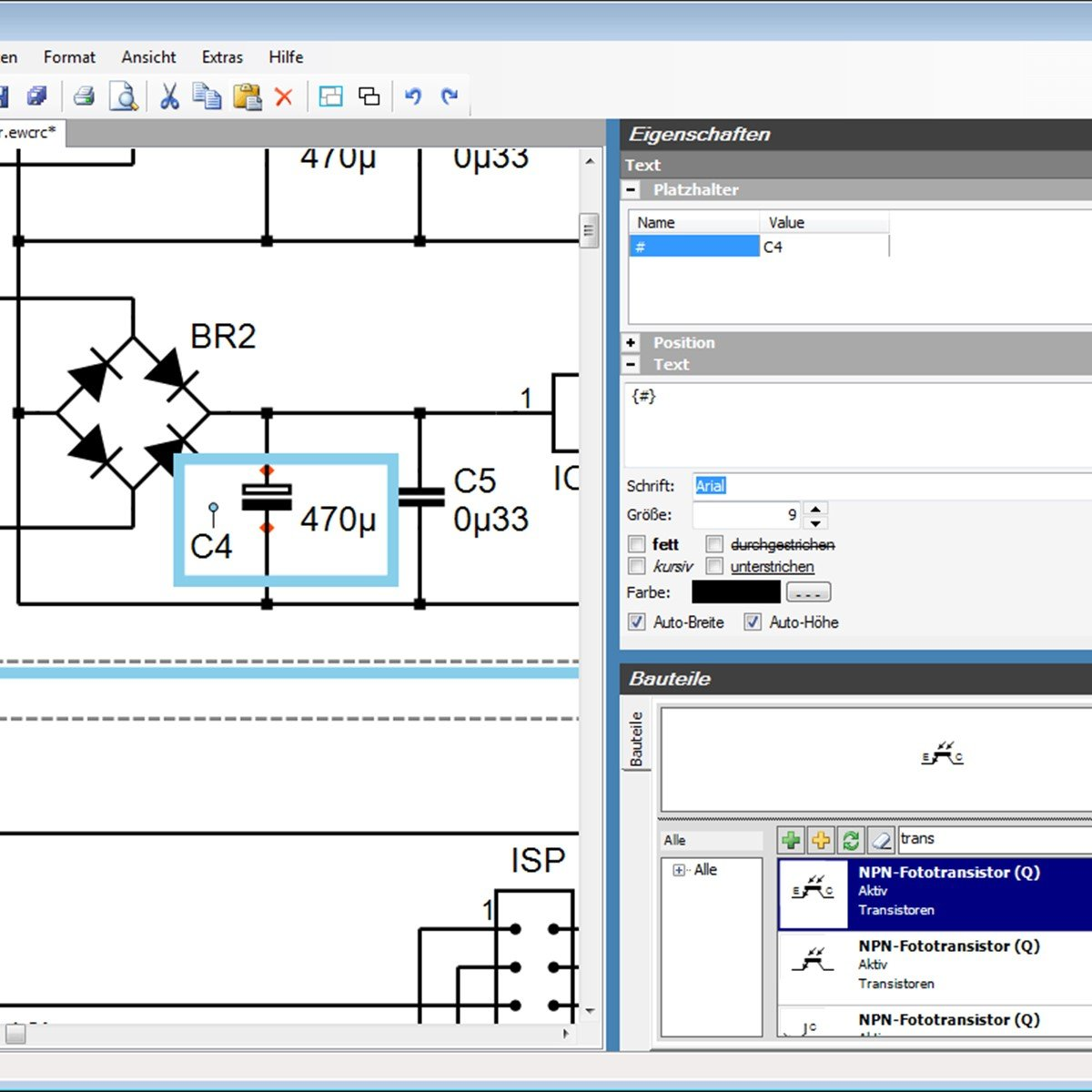 High quality images for electronic circuit design software open ...