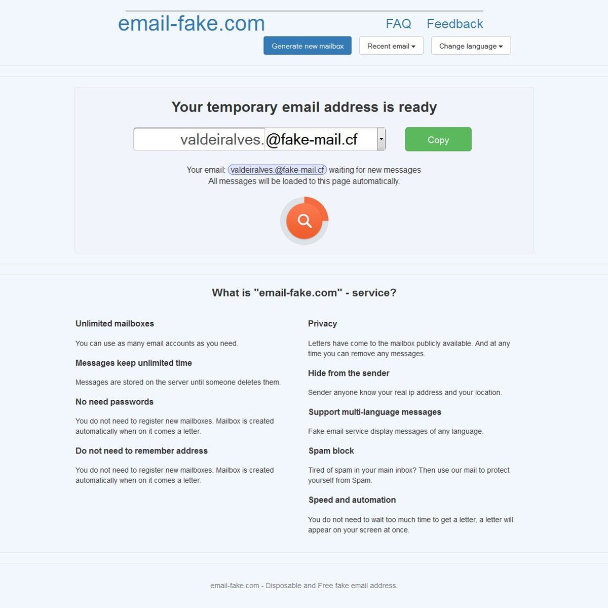 email-fake com Alternatives and Similar Websites and Apps