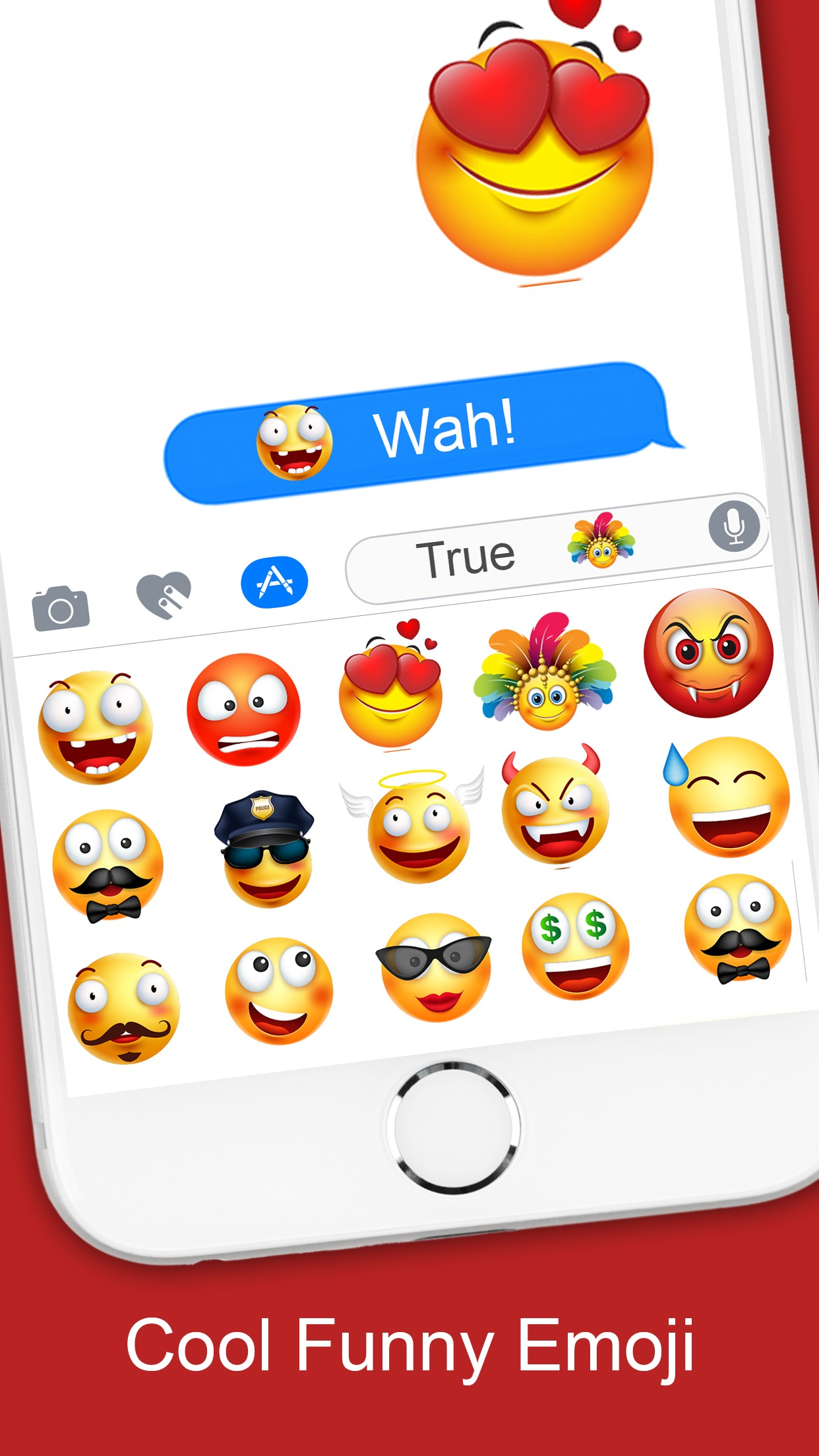 It's possible to update the information on Emoji 3D Stickers or report it  as discontinued, duplicated or spam.