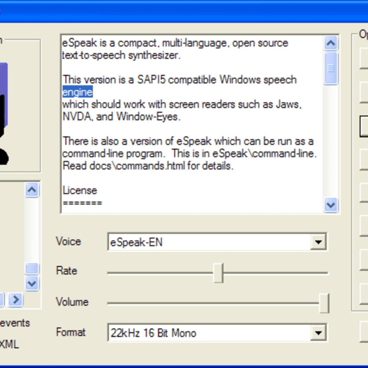 eSpeak Alternatives and Similar Software - AlternativeTo net