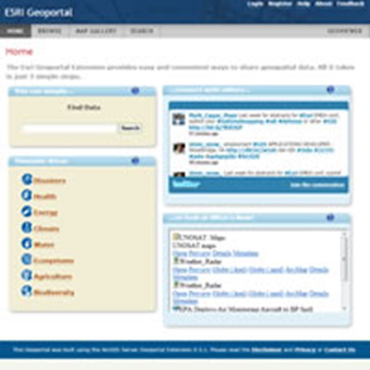 ESRI Geoportal Server Alternatives and Similar Software
